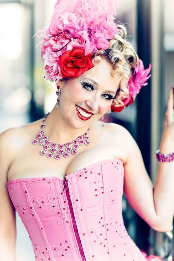 The magnificent Burlesque performer and producer Champagne Sparkles tells it all / indieberlin interview
