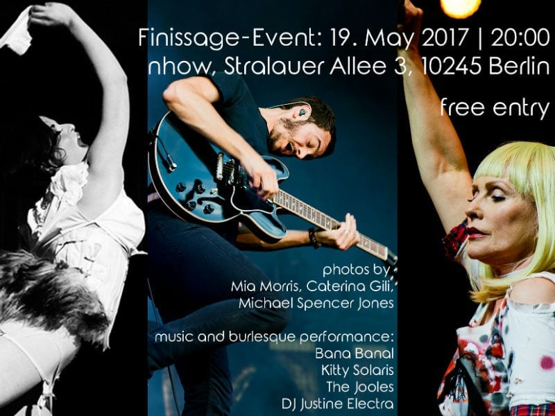 indieBerlin Finissage party announcement flyer