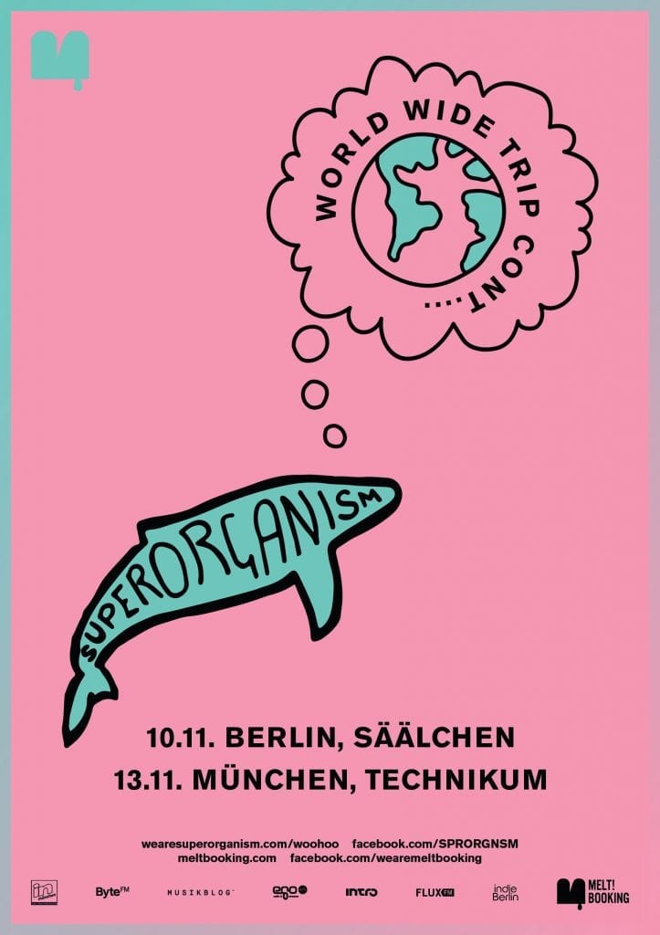 Superorganism coming to Germany